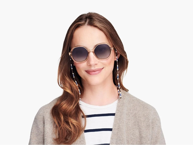 Roxanne Assoulin x Warby Parker Eyewear Chain in Bamboo Grove $60