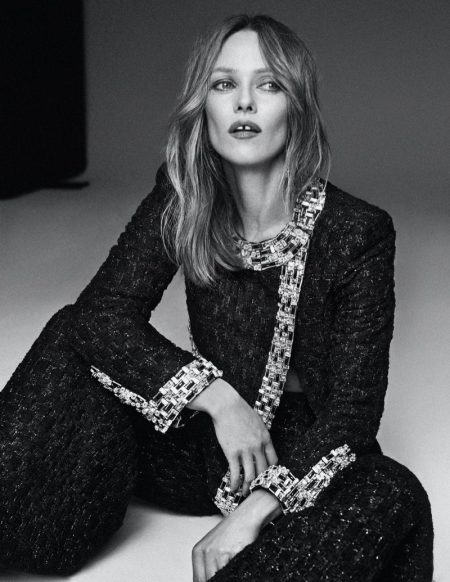 Vanessa Paradis photographed by Xavi Gordo for Harper's Bazaar Spain.