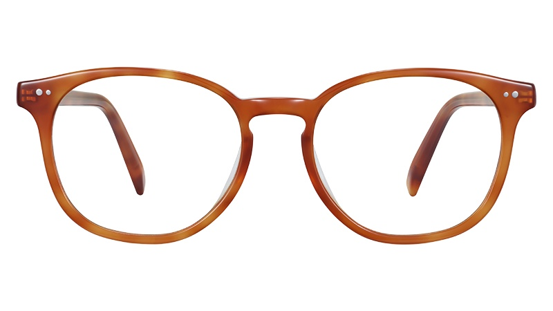Warby Parker Carlton Glasses in Sequoia Tortoise $95