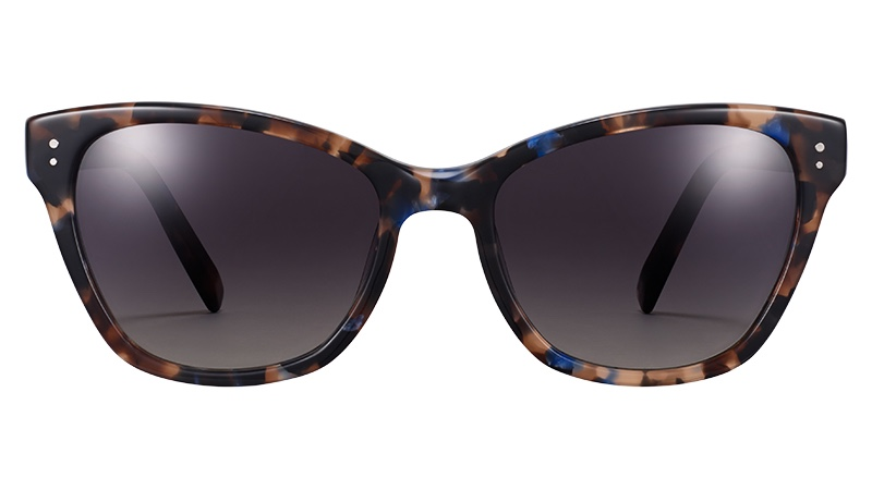 Warby Parker Delaney Glasses in Tanzanite Tortoise $95