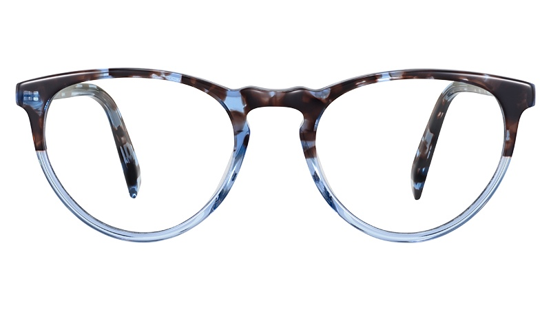 Warby Parker Marion Glasses in Icecap Tortoise Fade $95