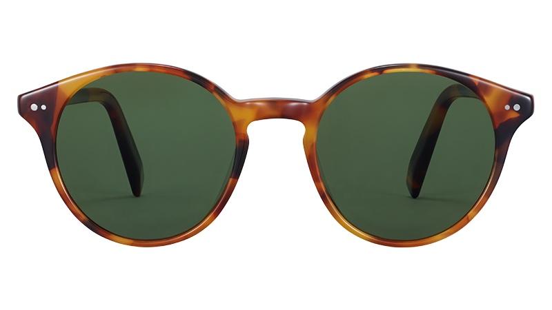 Warby Parker Morgan Glasses in Mesa Tortoise $95