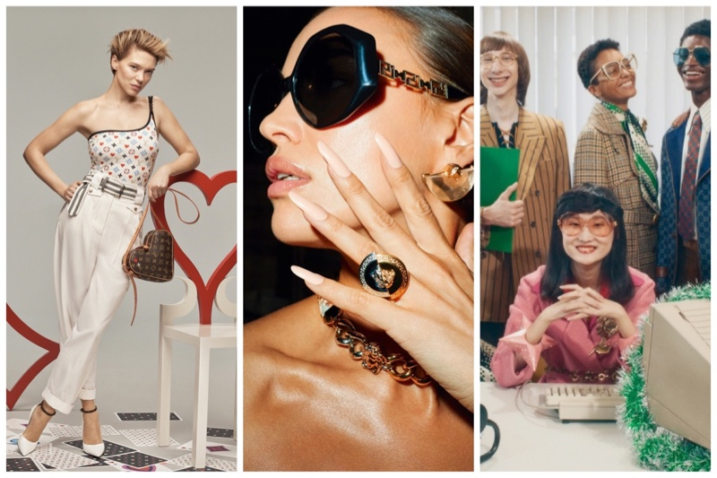 Week in Review | Irina Shayk's New Cover, Gucci Holiday Ads, Lea Seydoux for Louis Vuitton + More