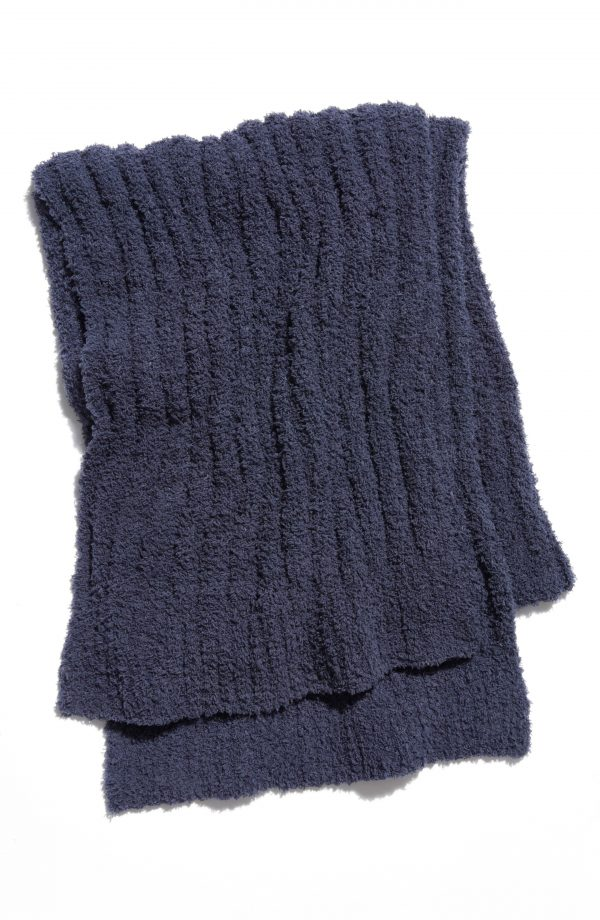 Women's Free People Cloud Rib Oversize Scarf, Size One Size - Blue