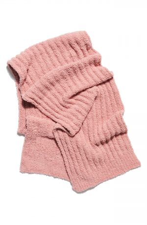Women's Free People Cloud Rib Oversize Scarf, Size One Size - Pink