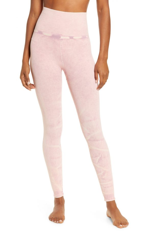 Women's Free People Fp Movement Happiness Runs Leggings, Size X-Small/Small - Pink