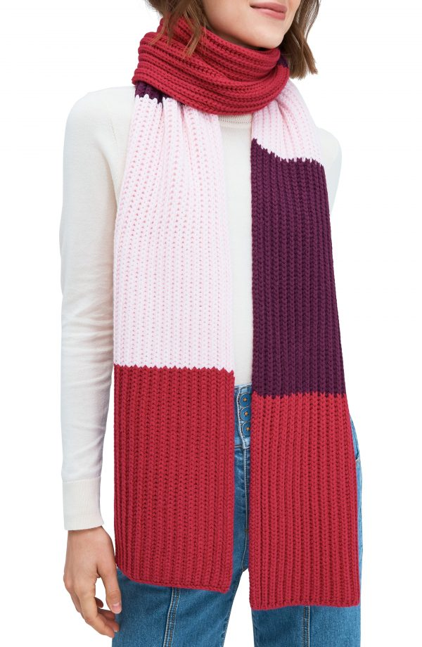 Women's Kate Spade New York Colorblock Scarf, Size One Size - Pink