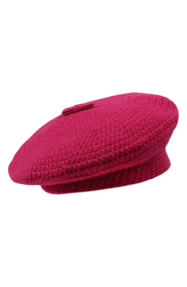 Women's Kate Spade New York Crocheted Beret - Pink