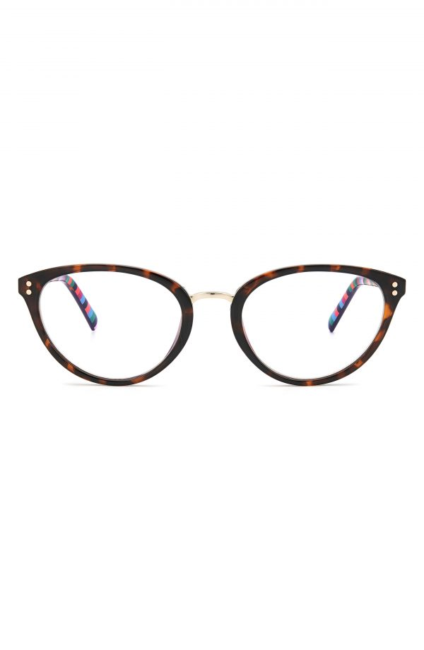 Women's Kate Spade New York Emilia 52mm Blue Light Blocking Reading Glasses - Dark Havana