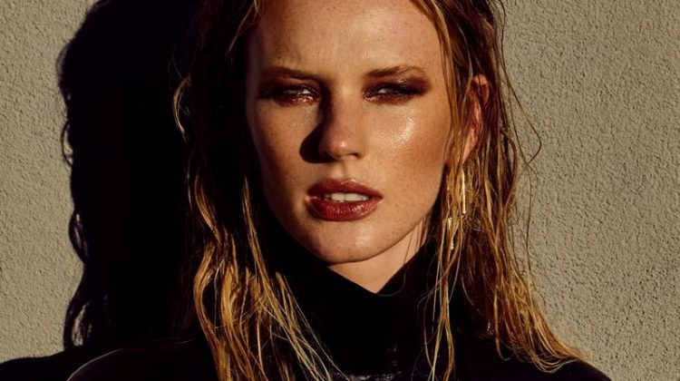 Anne Vyalitsyna Wears Sleek Looks for ISSUE Magazine