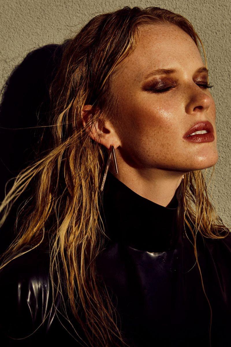 Anne Vyalitsyna Wears Sleek Looks for ISSUE Magazine