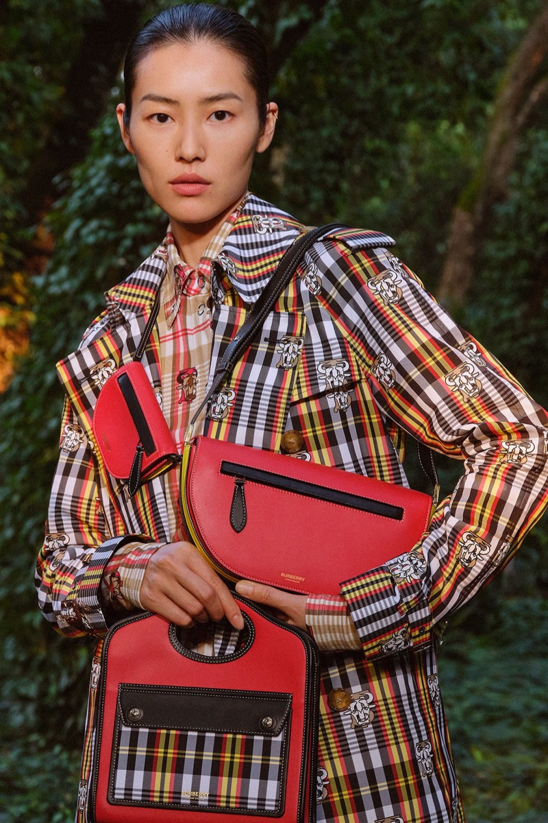 Liu Wen stars in Burberry Chinese New Year 2021 campaign.