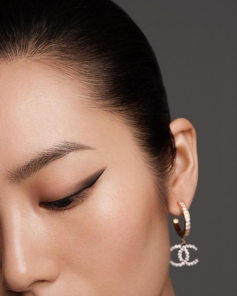Chanel Colours of Chanel makeup campaign.