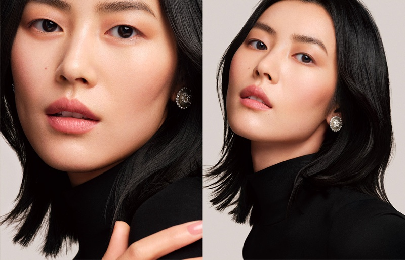 Liu Wen wears Chanel Les Beiges in Colours of Chanel campaign.