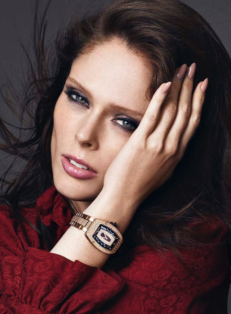 Coco Rocha Gets Her Closeup for Vogue Hong Kong Time