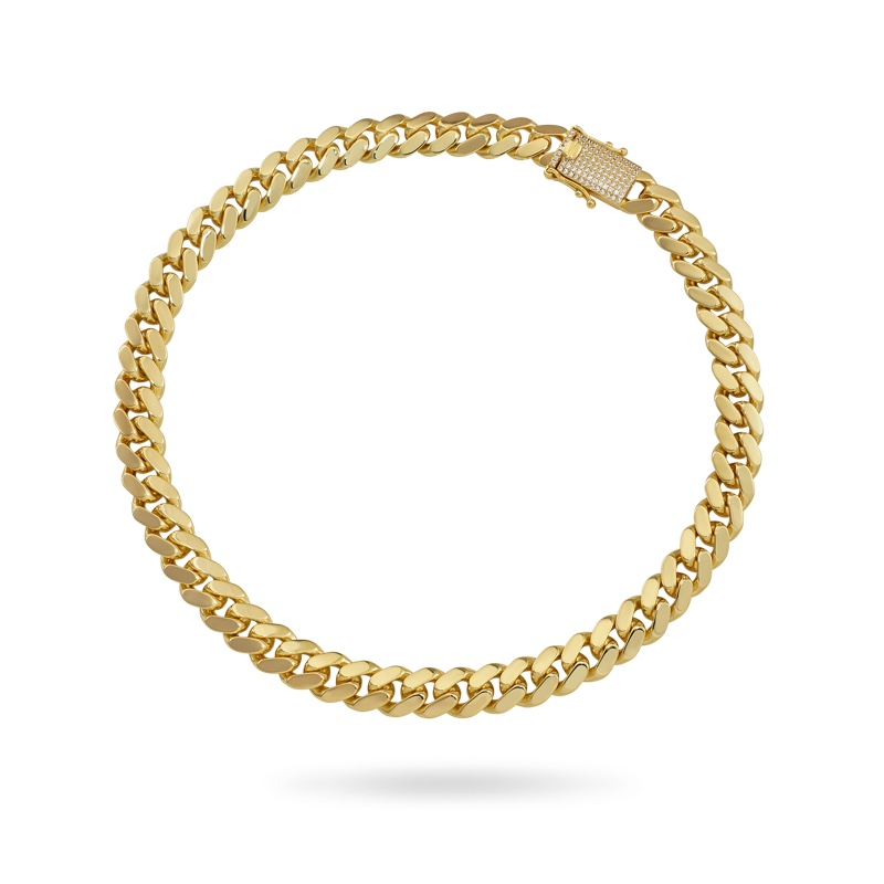Cuban Link Necklace Plain