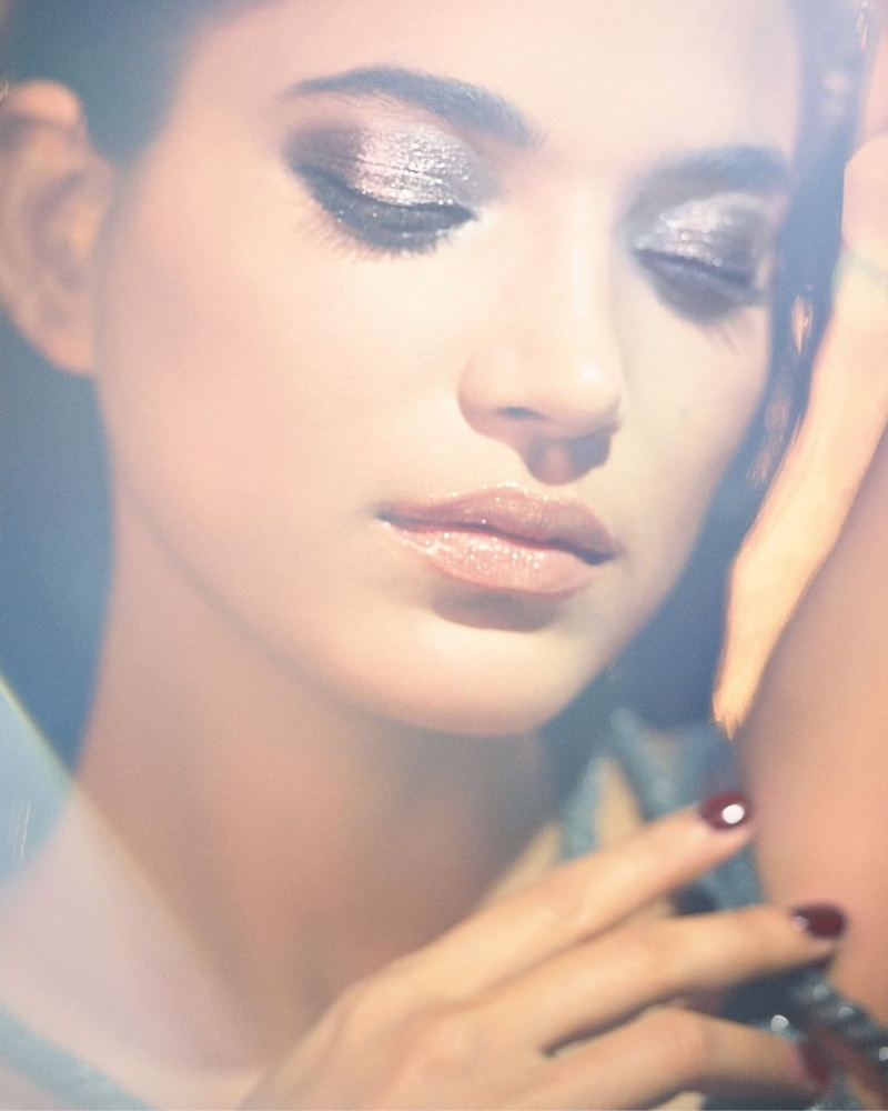 Kris & Amrit Dazzle in Holiday Makeup for Dior Magazine