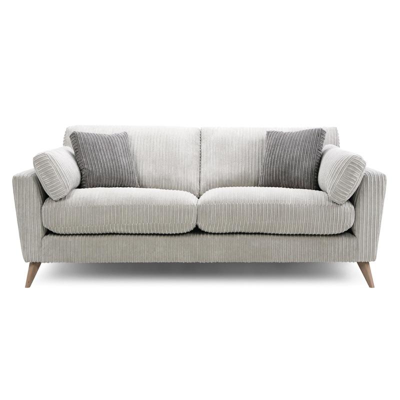 Grey Loveseat Sofa Pillows