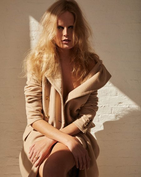 Hanne Gaby Odiele Poses in Chic Styles for M Magazine Milenio