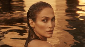 Jennifer Lopez stars in JLo Beauty debut campaign.