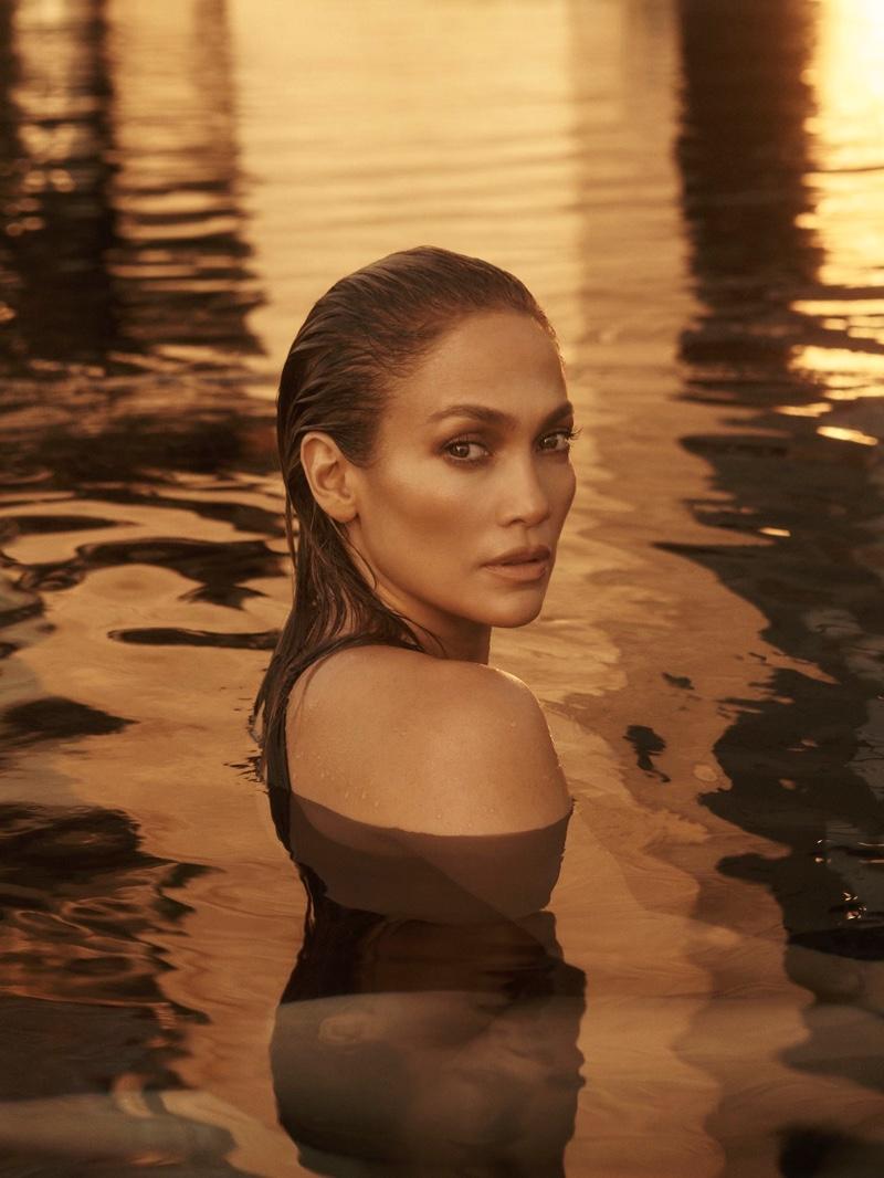 Jennifer Lopez stars in JLo Beauty debut campaign.