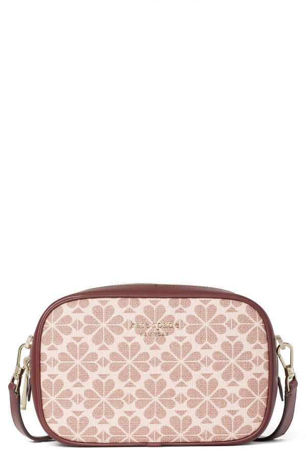Kate Spade New York Infinite Spade Flower Crossbody Bag - Pink