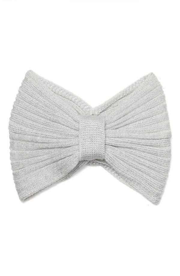 Kate Spade New York Knot & Bow Knit Headband, Size One Size - Ivory