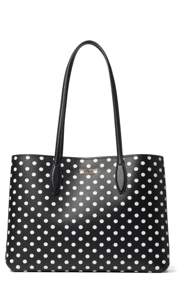 Kate Spade New York Lady Dot All Day Large Tote - Black