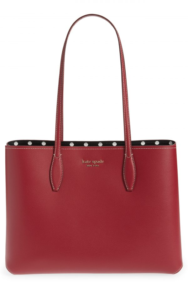 Kate Spade New York Lady Dot All Day Large Tote - Red