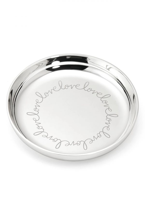 Kate Spade New York Love Ring Dish, Size One Size - Metallic