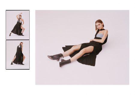 Linnea Öhlund Graces the Pages of Harper's Bazaar Ukraine