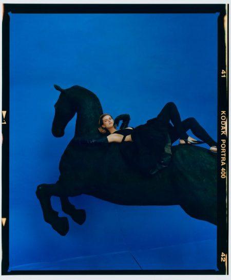 Malgosia Bela Poses in Statement Fashions for Vogue Czechoslovakia