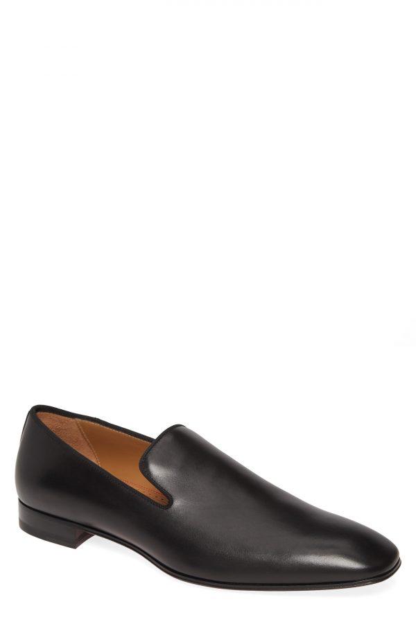Men's Christian Louboutin Dandelion Venetian Loafer, Size 6US - Black