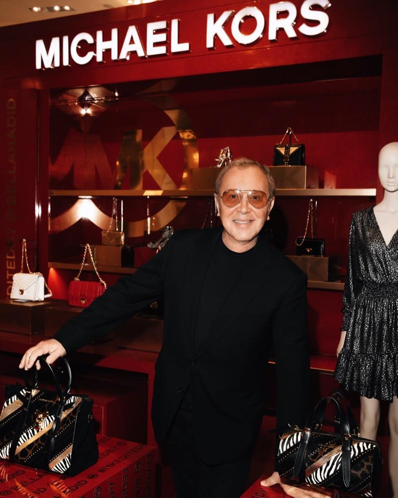 Designer Michael Kors at MK Edited By... in Macy's Herald Square.