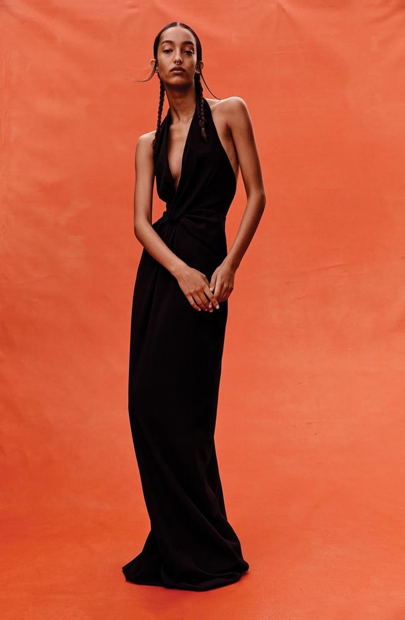 Mona Tougaard Models Bold Shapes for WSJ. Magazine