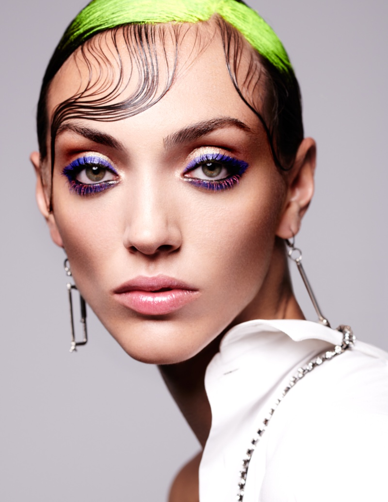 Neus Bermejo Wears Punk-Inspired Beauty for Harper's Bazaar Thailand