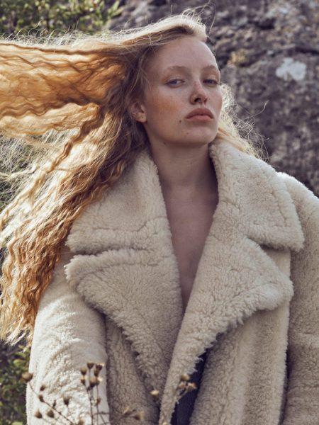 Nora EinwallerModels Natural Beauty for ELLE Serbia