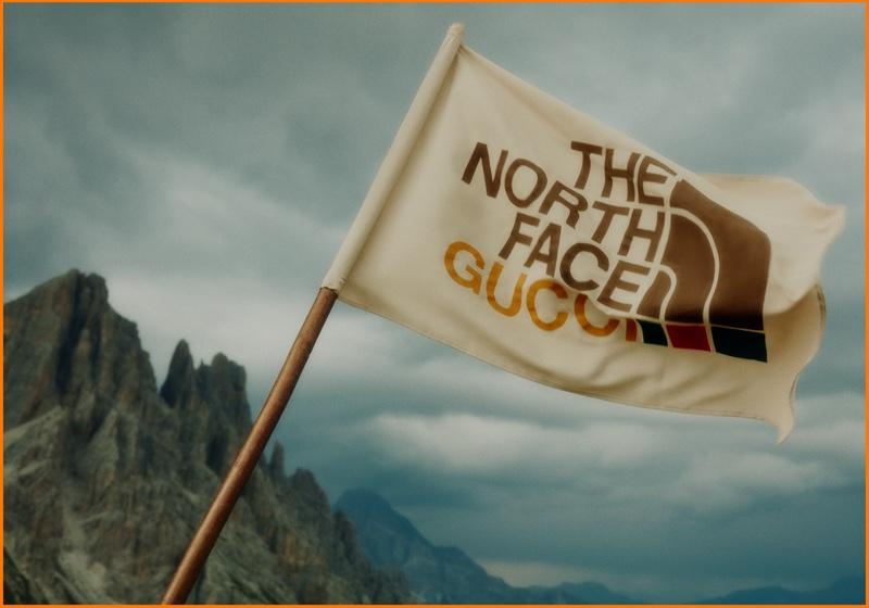 The North Face x Gucci announce collaboration.