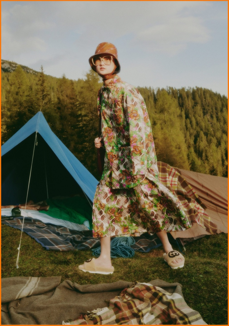 The North Face x Gucci Delivers Explorer Style