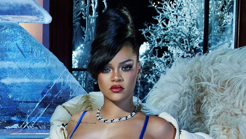 Rihanna is An Ice Queen in Savage x Fenty Holiday 2020 Campaign