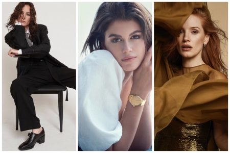 Week in Review | Heather Kemesky's New Cover, Kaia Gerber for OMEGA, Jessica Chastain in Bazaar Spain + More