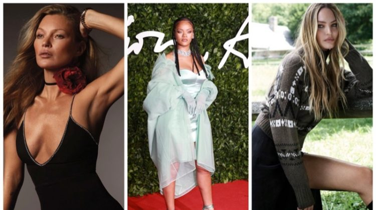 Week in Review | Kate Moss' New Cover, Candice Swanepoel for Naked Cashmere, Rihanna in Savage x Fenty + More