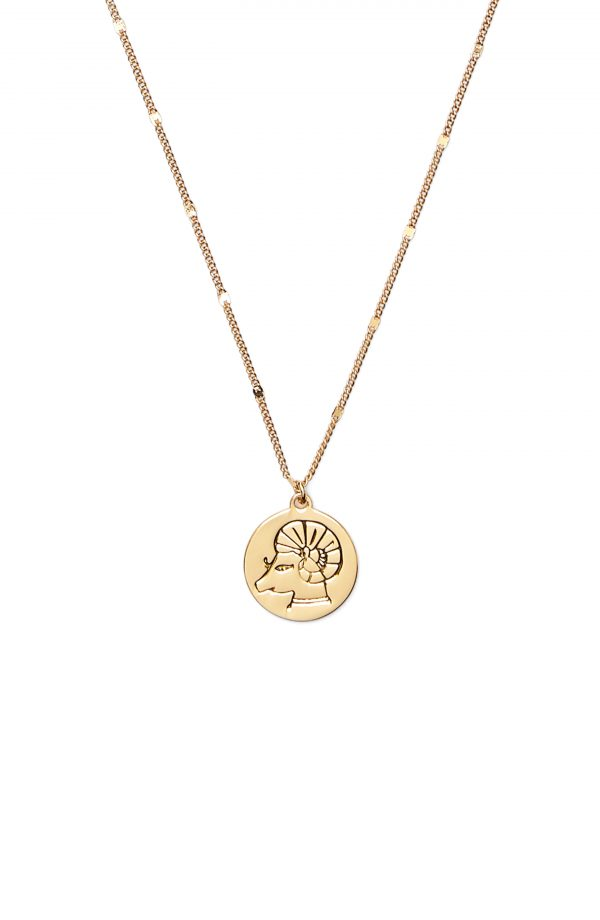 Women's Kate Spade New York In The Stars Zodiac Pendant Necklace