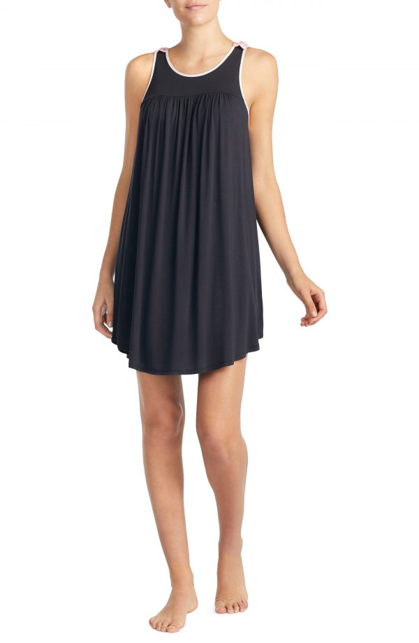 Women's Kate Spade New York Jersey Chemise, Size X-Small - Black