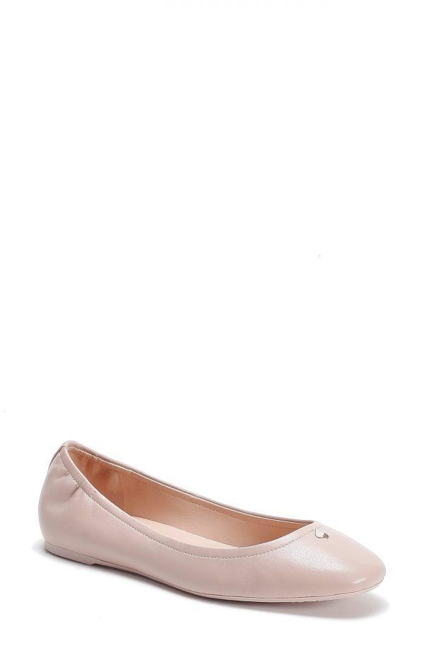 Women's Kate Spade New York Kora Ballet Flat, Size 6.5 M - Beige