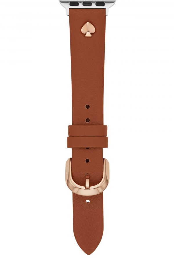Women's Kate Spade New York Leather Apple Watch Strap