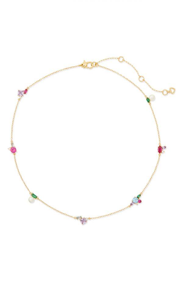 Women's Kate Spade New York Little Gem Delicate Necklace