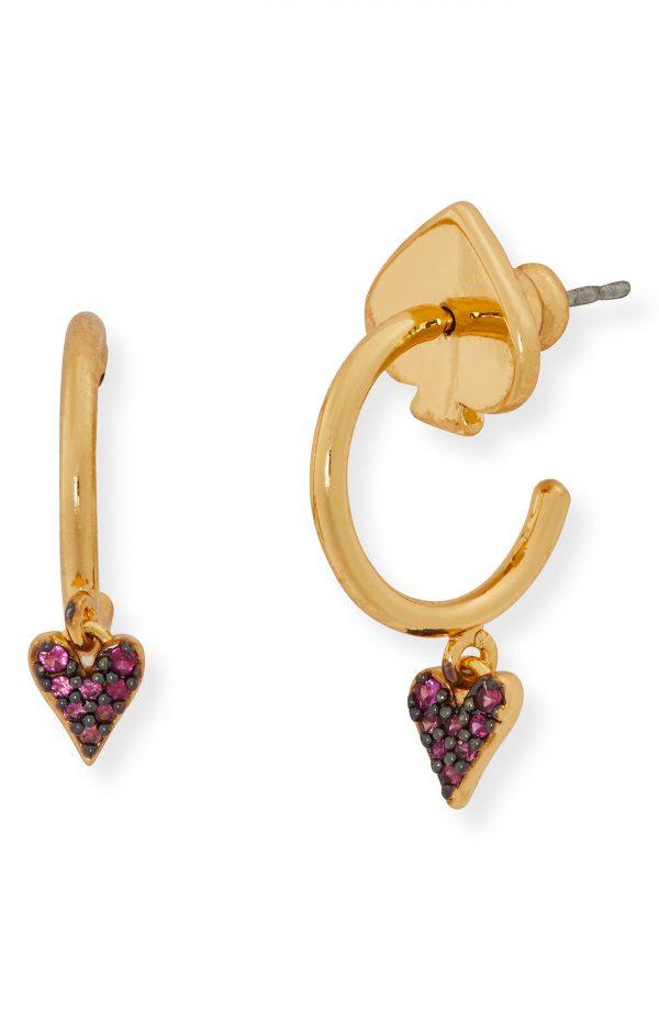 Women's Kate Spade New York Sweetheart Huggie Hoop Earrings