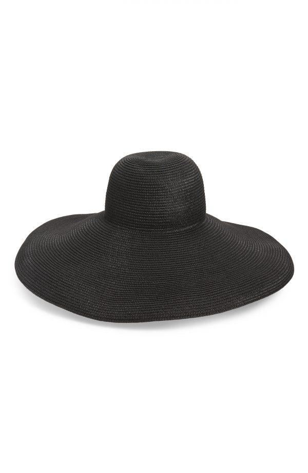 Women's Kate Spade New York Wide Brim Straw Hat - Beige