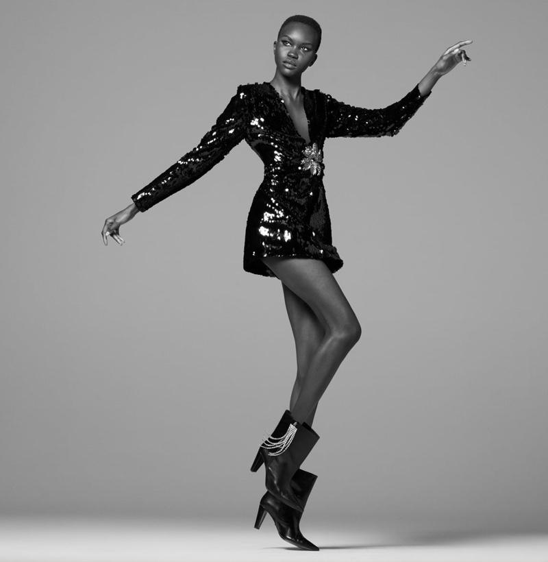 Zara Limited Edition Sequin Dress.